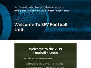 San Fernando Valley Football Officials Association